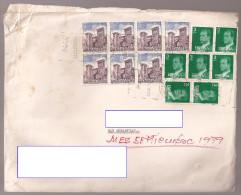 Doc, Sobre Compañía De Asfaltos (sellos Con Castillos Y Rey) - Documentos Antiguos