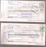 Letra De Cambio De ALAVA, Verde 10 Pts X2 (bis) - Letras De Cambio