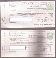 Letra De Cambio De ALAVA, Verde 20 Pts X2 (tris) - Letras De Cambio