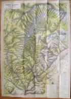 ROMANIA-PIATRA CRAIULUI MOUNTAINS - Cartes