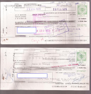 Letra De Cambio De ALAVA, Verde 85 Pts X2 - Letras De Cambio