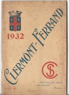 CLERMONT-FERRAND  GUIDE TOURISTIQUE - Autres Collections