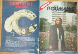 ROMANIA-VACANCES EN ROUMANIE,COMTURIST - Cartes