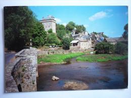 Montrozier ( 12 ) Le Pont  Et Le Chateau - Francia