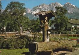 013G- Malerischen Dorfbrunnen Am Wilden Kaiser Tirol - Österreich