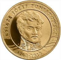 """POLONIA 2 ZLOTES 2.013 2013 Nordic Gold/Oro Nórdico """"""""Príncipe Józef Poniatowski"""""""" T-DL-10.595 - Polonia"""