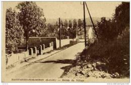 77 SAINT-OUEN-SUR-MORIN - Entrée Du Village - France