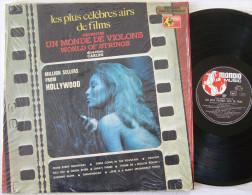 Airs De Films LP Un Monde De Violons World Of Strings Direction CARLINI M / EX - Musicals