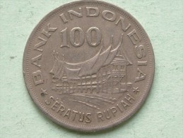 1978 - 100 Seratus Rupiah / KM 42 ( Uncleaned - For Grade, Please See Photo ) ! - Indonésie