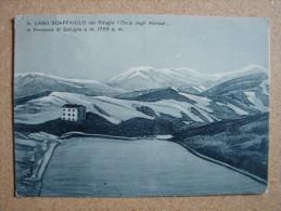 """Bop3301)   Il Lago Scaffaiolo Col Rifugio """"Duca Degli Abruzzi"""" - Bologna"""