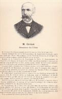Cuvinot Sénateur De L´Oise Liancourt - Biographie