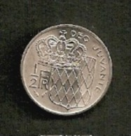 RAINIER III - 1/2 F 1982 - 1960-2001 Nouveaux Francs