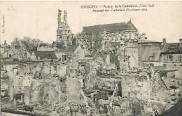 6989. Postal SOISSONS (Aisne)  Cathedrale Et Ruines - Soissons
