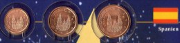 Kleinmünzen-Set EURO Spanien 1999-2013 Stg 5€ Der Prägeanstalt Madrid Spain Kleinmünzen-Satz With 1,2,5C Coins Of ESPANA - Spain