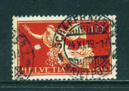 SWITZERLAND - 1919  Peace  10f  Used As Scan - Svizzera