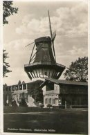 REAL PHOTOGRAPHIC POSTCARD - POTSDAM WINDMILL - GERMANY - DATED 1936 - DESTROYED IN WWII - Potsdam
