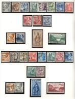 Allemagne - Zone Allemande, Rheinland-Pfalz / Rhénanie-Palatinat, 1947 / 8 Obl. Séries Complètes YT 1 à 29 - Zone Française