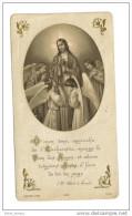Lorges 41 Eglise Saint Martin Image Pieuse Bouasse Jeune 1922 - Images Religieuses