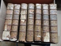 LOT DE 7 : REPERTOIRE UNIVERSEL & RAISONNE DE JURISPRUDENCE CIVILE,CRIMINELLE,CANONIQ UE & BENEFICIALE 1784 - 1701-1800