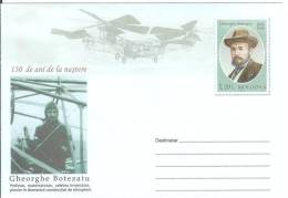 Moldova 2012 Gheorghe Botezatu Mathematician, Pioneer Of Helicopter Flight Aviation Transport - Moldova