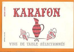 BUVARD /vin De Table Selectionné KARAFON - Schnaps & Bier