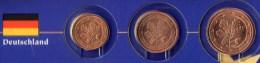 Kleinmünzen-Set EURO Deutschland 2002-2013 Stg. 4€ Der Prägeanstalt A D F G J Kleinmünzensatz With 1,2,5C. Coins Germany - Germany