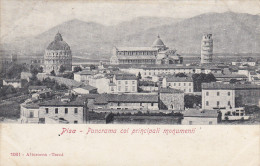 Italie,italia,TOSCANA,TOSCANE,PISA,PISE EN 1903,CARTE ANCIENNE AVEC TIMBRE,MARCOPHILIE - Pisa