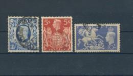BL3-392 GREAT BRITAIN 1939/51 3 STAMPS GORGE VI. USED, GEBRUIKT, OBLITERE. - 1902-1951 (Koningen)
