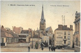 MELUN - Place De La Porte De Paris - Melun