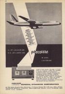 # CONVAIR 1950s Italy Advert Pub TWA SAS DELTA AMERICAN SWISSAIR Airlines Airways Aviation Airplane - Advertisements