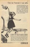 # CONVAIR 1950s Italy Advert Pub AMERICAN LUFTHANSA SAS SABENA SWISSAIR Airlines Airways Aviation Airplane - Advertisements