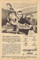 # CONVAIR 1950s Italy Advert Pub BRANIFF IBERIA LUFTHANSA DELTA Airlines Airways Aviation Airplane - Advertisements