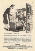 # CONVAIR 1950s Italy Advert Pub BRANIFF IBERIA LUFTHANSA DELTA SAS SABENA Airlines Airways Aviation Airplane - Publicités