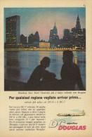 # DC DOUGLAS 1960s Italy Advert Publicitè Publicidad Reklame Airlines Airways Aviation Airplane New York - Advertisements