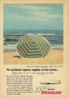 # DC DOUGLAS 1960s Italy Advert Publicitè Publicidad Reklame Airlines Airways Aviation Airplane Sea - Advertisements