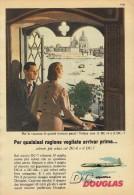 # DC DOUGLAS 1960s Italy Advert Publicitè Publicidad Reklame Airlines Airways Aviation Airplane Venice Family Love - Advertisements