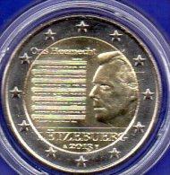 Edition 2 EURO Luxemburg 2013 Stg 8€ Ons Heemecht Note 2€-Münze Nationalhymne Münzen Letzebuerg Music Coin Of Luxembourg - Luxembourg