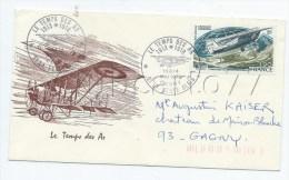"""La Ferté-Alais (91) : Enveloppe Premier Jour """"Le Temps Des As"""" En 1978. - Documents Historiques"""