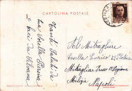 Italy 1902 Used Postcard Military Mail - 1900-44 Vittorio Emanuele III