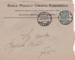 Italy 1912 5c Green King Victor Emmanuel On Cover - Italië