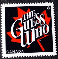 CANADA, 2013,  CANADIAN RECORDING ARTISTS: THE GUEST WHO  BAND:  RUSH , MNH Die Cut To Shape From Quartly Pack - Carnets