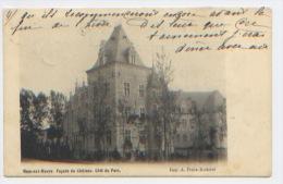 Belgique, Ham Sur Heure, Façade Du Château, Côté Du Parc, Carte Précurseur A Circulé En 1904, Bon état - Ham-sur-Heure-Nalinnes