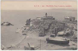 20349g PALAMOS - Faro - Canteras - Varadero - 1907 - Gerona