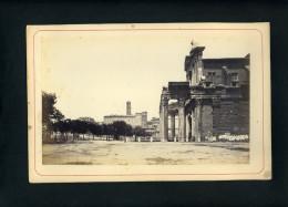 ITALIE - ROME - TEMPLE D'ANTONINE ET FAUSTINE - Luoghi