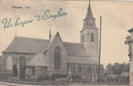 Edegem     Kerk    Un Bonjour D' Edegem               Scan 5935 - Edegem