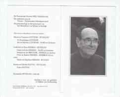 Pater Frans PETTELOO Missionaris Van Scheut Sint-Eloois-Winkel 1930 Congo Bisdom Inongo Rumbeke Bissegem Kortrijk 2003 - Devotion Images