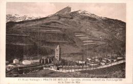66 PRATS DE MOLLO LA VILLE CHEMIN COUVERT DU FORT LAGARDE ET LA TOUR DU MIR  PAS CIRCULEE - France