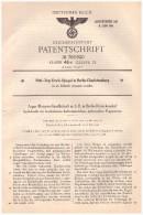 Original Patentschrift - Argus Motoren GmbH In Berlin - Reinickendorf , 1937 , Kurbelwelle Für Flugmotoren , Flugzeug !! - Aviation
