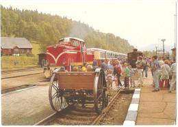 TRAIN République Tchèque - VLAK Ceská Republika - RAILWAY Czech Republic - KORENOV NÁDRAŽÍ - Foto J. Cervinka - (gare) - Gares - Avec Trains
