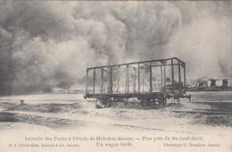 Hoboken    Incendie Des Tanks à Pétrole De Hoboken  Trein Ongeval                       Scan 5953 - Herenthout